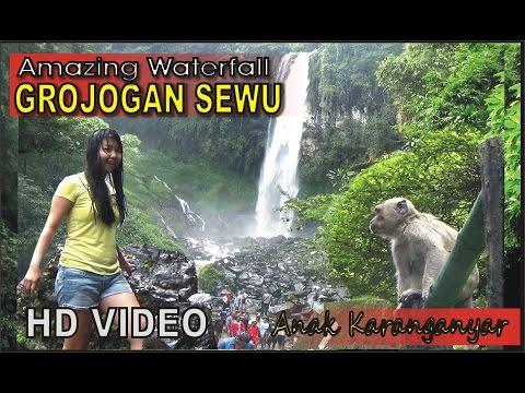 Air Terjun Grojogan Sewu Tawangmangu ✰ Salah Satu Air Terjun Terbaik Indonesia di Gunung Lawu