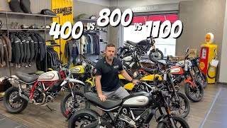 Ducati Scrambler Model Breakdown