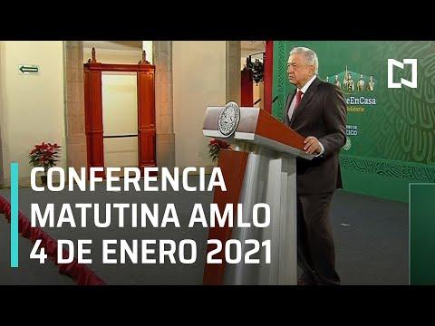 Conferencia matutina AMLO/ 4 de enero de 2021