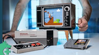 Spending 16 hours on the LEGO Nintendo Entertainment System