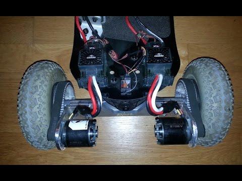 Diy Electric Mountain Board Dual 6374 Motor Pure Fun