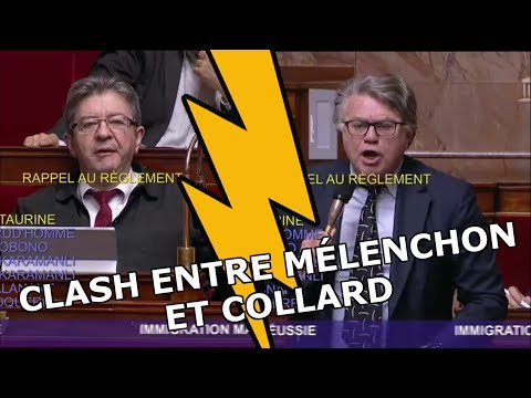 CLASH entre Jean-Luc Mélenchon (FI) et Gilbert Collard (FN) à l'Assemblée Nationale