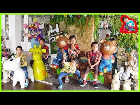 น้องบีม   ร้านอาหารที่เด็กชอบ เที่ยวราชบุรี บ้านผักหวาน