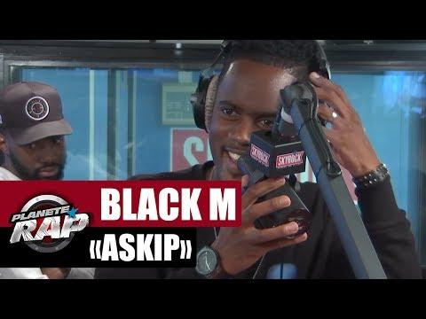 """Black M """"Askip"""" en live #PlanèteRap"""