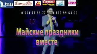 Uzeyir Mehdizade 1 ve 2 may Kırgızistan Respublikasında konsert proqramı ile sizlerde goruse gelir
