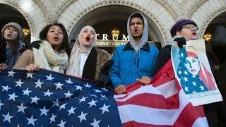 Trump preparing for showdown over travel ban