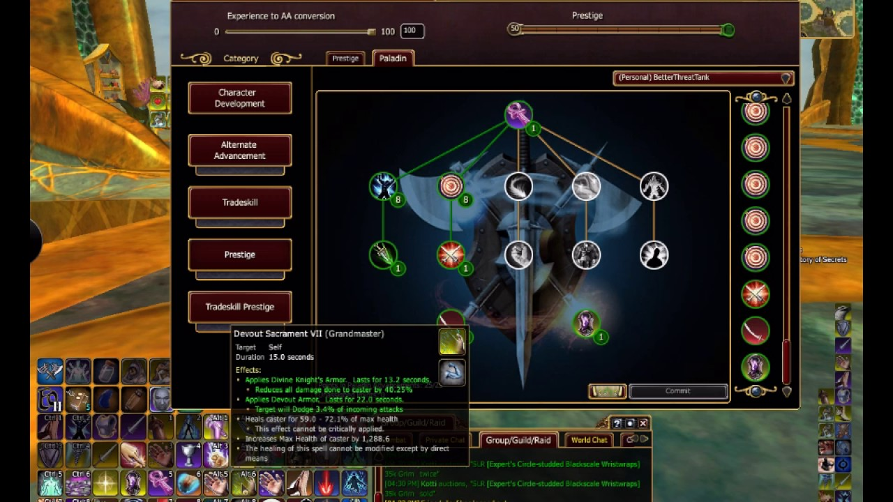 Everquest ii: kunark ascending paladin guide youtube.