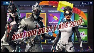 FORTNITE: Shop of March 25, 2019, New emote SALTO INFINI, SKIN arachne, MARTEAU COUINEUR
