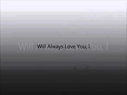Leona lewis i will always love you