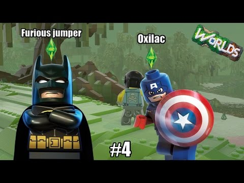LE MARAIS !! - Lego world ( ft Furious_jumper )