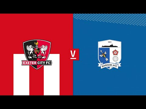 Exeter City Barrow Goals And Highlights