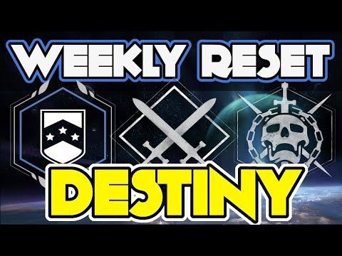 Destiny 2 Weekly Reset September 26 2017 FACTION RALLIES, Nightfall, Raid, Flashpoints