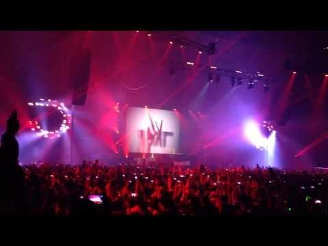"""Dash Berlin """" I Lose myself"""" Live @ Melbourne Hisense Arena, 8th Feb 2014"""
