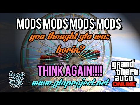 GTA Online MODS! ~ Wild dogs, flares, UF0s, anal fire, and MOAR! - www.gtaproject.net
