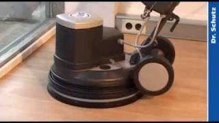 Boden sanieren mit Einscheibenmaschine SRP 2