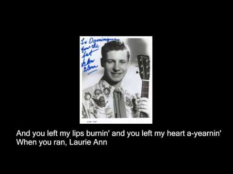 Glen Glenn - Laurie Ann (lyrics)