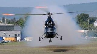 PZL Mi-2 extreme low pass at RedBull-Class FM Morning show, Budaörs