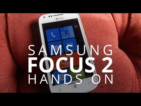 Samsung Focus 2 Hands On!
