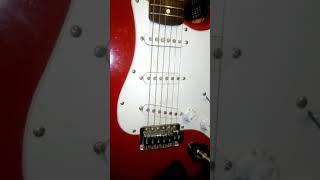 Kurtis. Scott working guitar