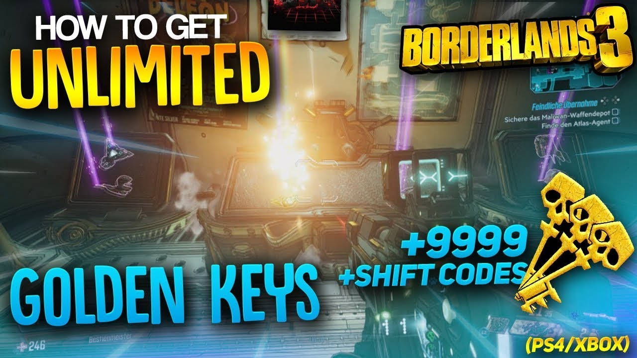 borderlands 3 shift code