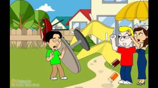 kevin destroys the backyard and gets grounded