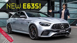 2021 AMG E63 S sedan! Sound, Details + History with Mr AMG!