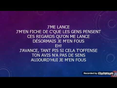 Ridsa je m'en fou paroles