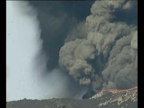 Mt Etna erupts  2002   1 of 4