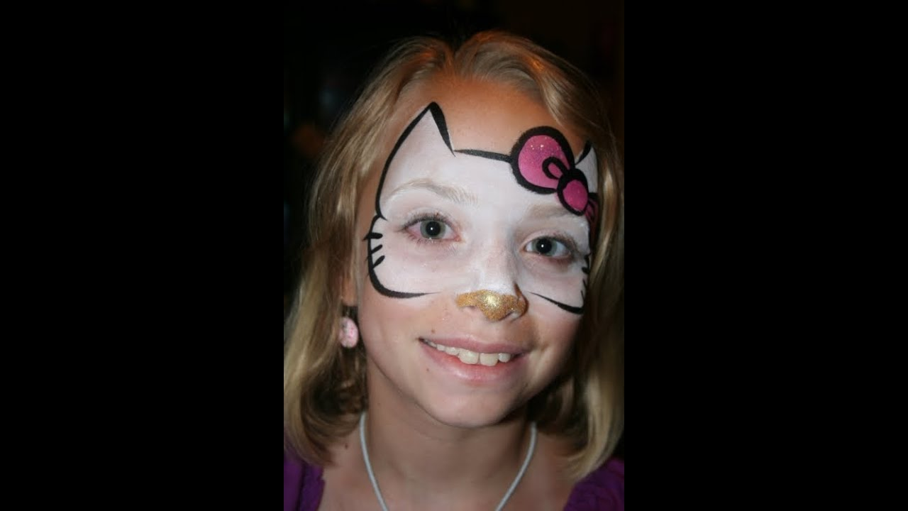 Easy Pig Face Paint