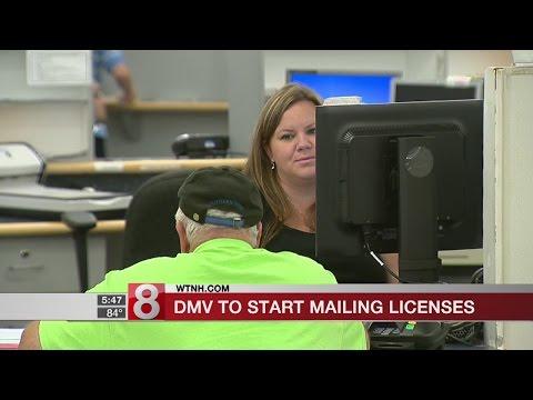 DMV to start mailing licenses