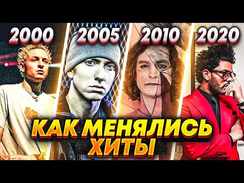 ЭВОЛЮЦИЯ НАЗОЙЛИВЫХ ПЕСЕН С 2000 ПО 2020/ КАК МЕНЯЛИСЬ ХИТЫ