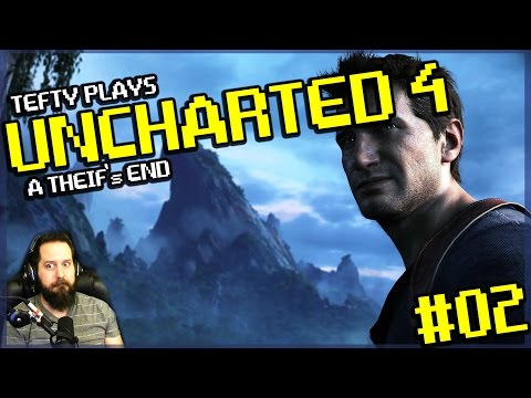 Uncharted 4 Campaign Playthrough - Ep 2 The Malaysia Job