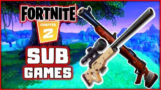 Fortnite! Snipers Only! Sub Games! 250+ Wins!   Blitzwinger