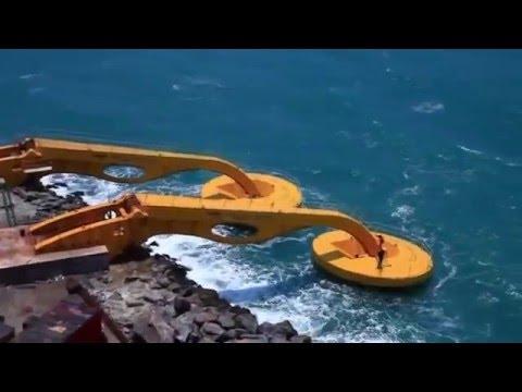 A energia  que vem do mar - Usina de Ondas do Porto de Pecém - CE