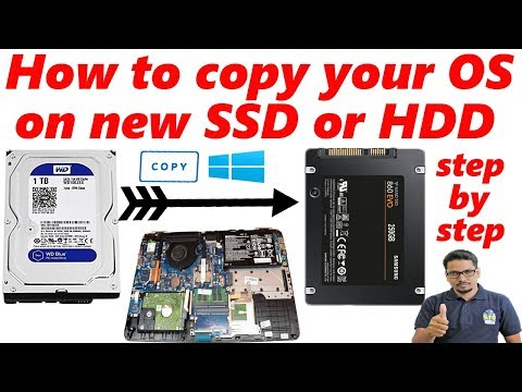 Hindi    How To Copy Your OS On New SSD Or HDD Install On Laptop Step By Step