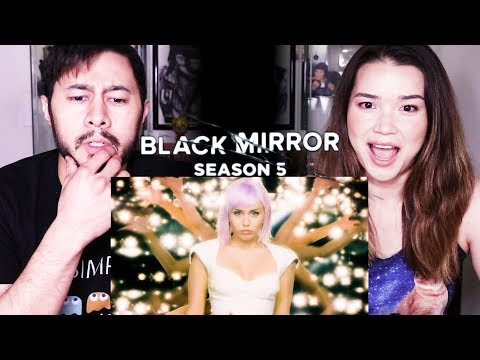 BLACK MIRROR | Season 5 | Netflix | Trailer Reaction!