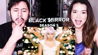 BLACK MIRROR | Season 5 | Netflix | Trailer Reaction!