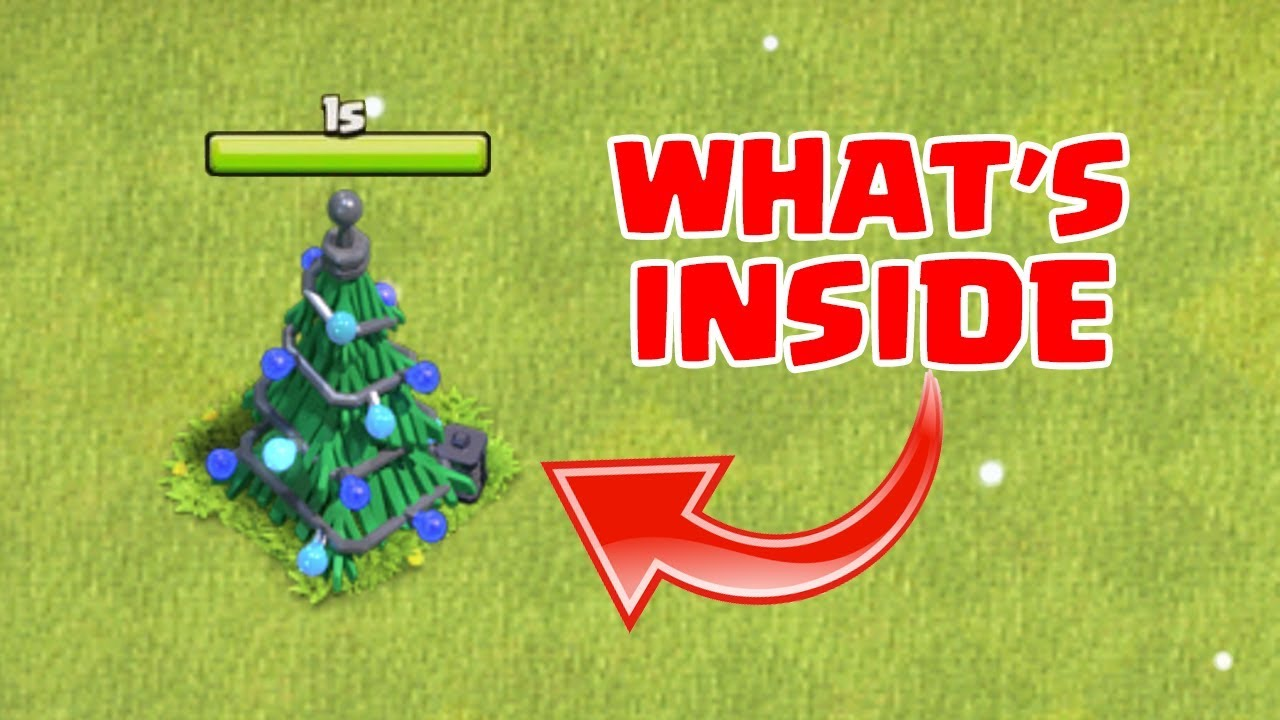 What Happens When U Remove Christmas Tree In Clash Of Clans Coc
