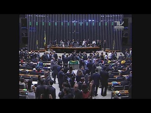 Votação do pedido de impeachment da presidente Dilma Roussef na Camara