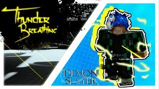 Thunder Breathing Style | Roblox Demon Slayer