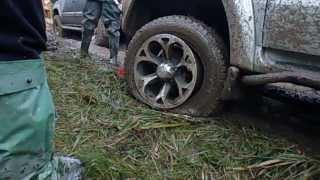 монтаж шины в полевых условиях