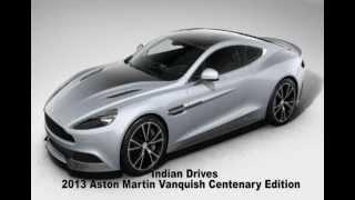 Aston Martin Vanquish Centenary Edition 2013 Videos