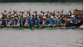 St. Paul Dragon Boat Festival - Rhythm in Blue Team, Race 2, Heat 1