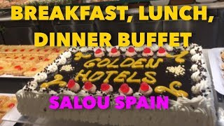 Breakfast, Lunch, Dinner Buffet | Golden Port Salou Hotel | Spain