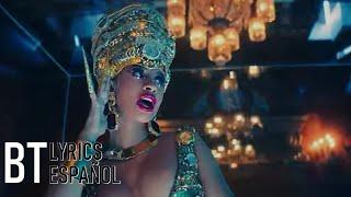 Cardi B - Money (Lyrics + Español) Video Official