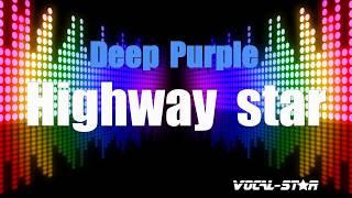 Deep Purple - Highway Star (Karaoke Version) with Lyrics HD Vocal-Star Karaoke