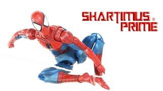 MAFEX Spider-Man Comic Version Marvel 6 Inch Medicom Import Action Figure Toy Review