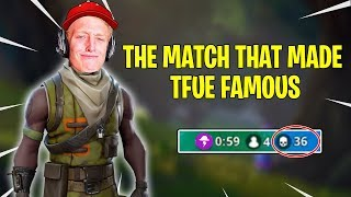 The Match That Made Tfue Famous In Fortnite