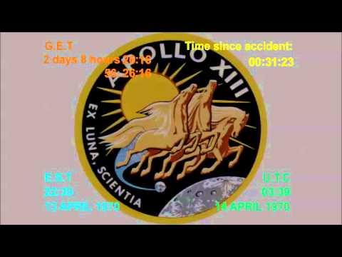 Apollo 13 Accident  Flight Director Loop Part 1