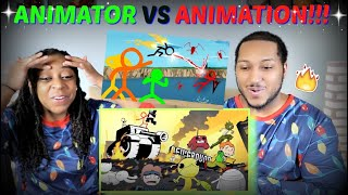 "Alan Becker ""Animator vs. Animation V"" REACTION!!!"
